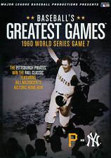 MLB: Baseball's Greatest Games - 1960 World Series Game 7 (DVD, 2010, 2-Disc...