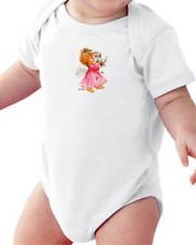 Infant Creeper Bodysuit One Piece T-shirt Angel Girl Kitten Kitty Cat k-398