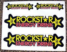 Rockstar style Motorbike Motorcycle Fork Stickers