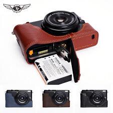 【TP】 EZ Access Camera half Case for Fujifilm X70 Fuji Genuine Leather