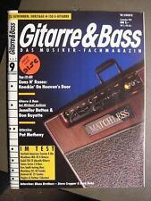 GITARRE & BASS 1992 # 9 - PAT METHENY JENNIFER BATTEN DON BOYETTE GUNS N' ROSES