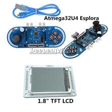 "1.8"" inch 128x160 TFT LCD Atmega32u4 5V Esplora Joystick Game Programming Module"