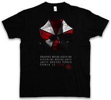 WESKER UMBRELLA T-SHIRT Resident Corporation Corp Evil Logo Dead Zombie T Shirt