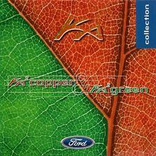 Ford Ka 2 Copper & Green Limited Edition 1998-99 UK Market Sales Brochure