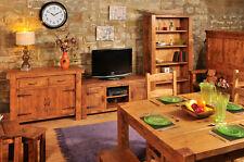 RUSTIC PLANK LIVING & DINING ROOM FURNITURE   FURNITURE SETS