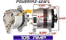 ALTERNATOR Fits YANMAR MARINE 1GM 2GM 3GM 3HM ENGINES 1982-1984 HIGH AMP 105A