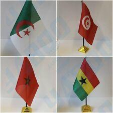 AFRICAN Table Desk Top Flag - EGYPT GHANA MOROCO KENYA ....
