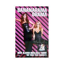 BANANARAMA - DRAMA - promo poster - 11 x 17 inches BANANARAMA poster