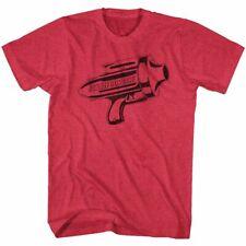 Flash Gordon Ray Gun Cherry Heather T-Shirt