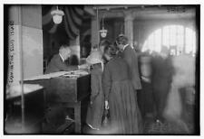 Photo of Exam, Ellis Island Number 9717 Vintage 20019