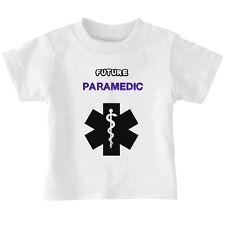 Future Paramedic Cotton Toddler Baby Kid T-shirt Tee 6mo Thru 7t