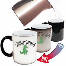 Funny Mugs Grumpysaurus Comedy Sarcasm Christmas Xmas COLOUR CHANGING NOVELTY MU