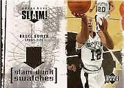 2005-06 Upper Deck Slam Basketball Dunk Swatches JERSEY You Pick