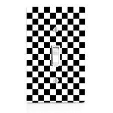 Checkered Flag, Nascar, Race Car, Light Switch Cover, Kitchen Decor, knob, knobs