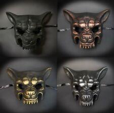 Wolf Animal Masquerade Mask, Men's Costume Halloween Masquerade Mask