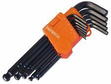 Faithfull - Ball End Hexagon Key Long Arm Set of 13 Metric (1.3-10mm)
