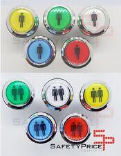 Pulsador Arcade Push button LED iluminado Bartop Stick Player 5 colores SP