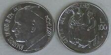 Vatikan 100 Lire 1981 p158 unz.