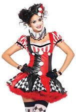 Leg Avenue womens red Harlequin dress costume set