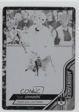 2016-17 Upper Deck Compendium Printing Plate Black 236 Tyler Johnson Hockey Card