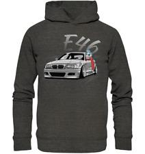 "Eaks ® Hoody /""e36/"" Black Capuche Pull Sweatshirt 320i 323i//ti 325i 328i"