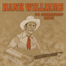 CD Hank Williams : 24 Greatest Hits