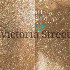 "Victoria Street Glitter - Metallic Rose Gold - Fine 0.008"" / 0.2mm (Beige Sand)"