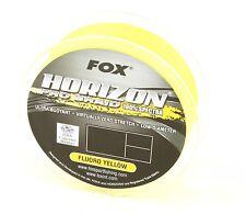 Fox Horizon Pro Braid Fluoro Yellow 100m Geflochtene Schnur Angelschnur Sehne