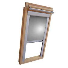 Verdunkelungsrollo Thermo Dachfensterrollo für Velux GGU/GPU/GHU - silber-grau