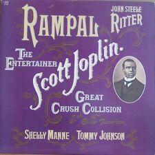 SCOTT JOPLIN ENTERTAINER, RAMPAL MANNE TOMMY JOHNSON LP