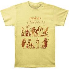 Officiel Genesis-A trick of the tail 2-Men 's Jaune T-shirt US IMPORT