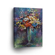 Modern Oil Painting on Canvas Print Wall Decor Art Framed %100 Handmade OPV4