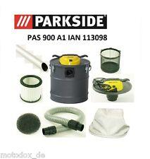 PAS 900 A1 IAN 113098 PARKSIDE ash cleaner Filtro Accessori Camino pulita Tubo