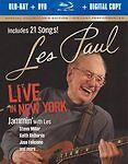 Les Paul: Live in New York Blu-ray/ DVD Combo + Digital Copy