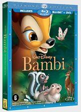 BLU RAY : BAMBI - WALT DISNEY DIAMOND EDITION - sealed sous cello  2 disc set