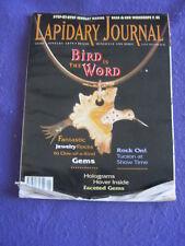 LAPIDARY JOURNAL - HOLOGRAMS - Jan 1996 v 49 # 10