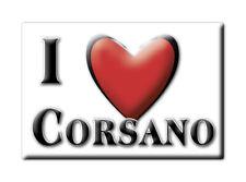 CALAMITA PUGLIA ITALIA FRIDGE MAGNET MAGNETE SOUVENIR I LOVE CORSANO (LE)