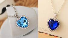 Stunning Titanic - The Heart of the Ocean - Blue Diamond Style Necklace Pendant