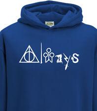 Kids Harry Potter Deathly Hallows Always Wizard Hogwarts Gryffindor 1400 Hoodie.