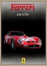 FERRARI 330 GTO CLASSIC CAR STAMPA