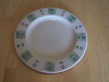 Pfaltzgraff USA CLOVERHILL FLORAL Set of 5 Dinner Plates Green Blue