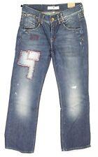 Jeans Vintage fantaisie large femme FREEMAN SONAR DENIM taille W 28