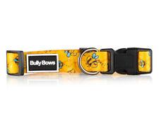 Bumble Bee Dog Collar- Extra Strong Stylish Custom Dog Collar