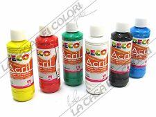 CWR DECO - ACRIL - 250 ml - VARI COLORI - COLORI ACRILICI