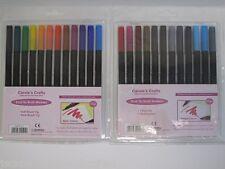 Dual Tip Brush Marker 12pc pk Choose Basic or Vintage Colours Arts & Crafts