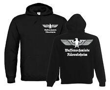 OLD SCHOOL Hoodie | Waffenschmiede Rüsselsheim | Reichsadler | Autobau  886-3-02