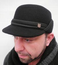 Herrenkappe mit Ohrenklappen Winterkappe Cap Schirmmütze Herrenmützen Herrenhüte