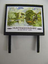 BR Huntingdonshire - Model Railway Billboard - N & OO Gauge
