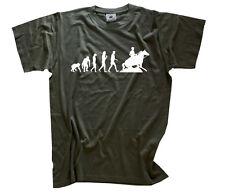 Standard Edition Sliding Stop Evolution Western Reiten country T-Shirt S-XXXL