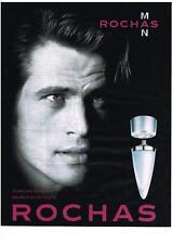 PUBLICITE ADVERTISING 013 1999 ROCHAS 'homme parfum ROCHAS MAN            100113
